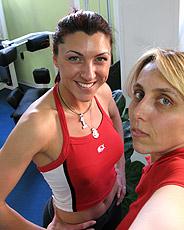 Servizio fotografico a Letizia Marchetti, pilota Ducati